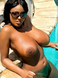 Is this busty ebony whore a bitch..