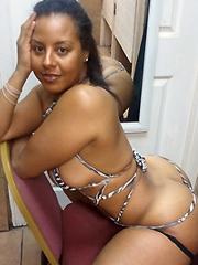 Chubby ebony girl gets fucked