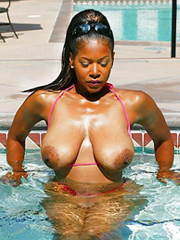 Wet and wild girls naked