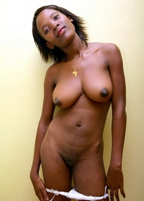 Black girlfriends in sleazy poses