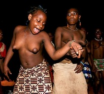 Nude african women with great..