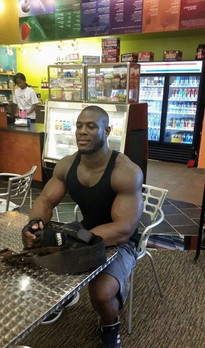 Naked black guys bodybuilders with..